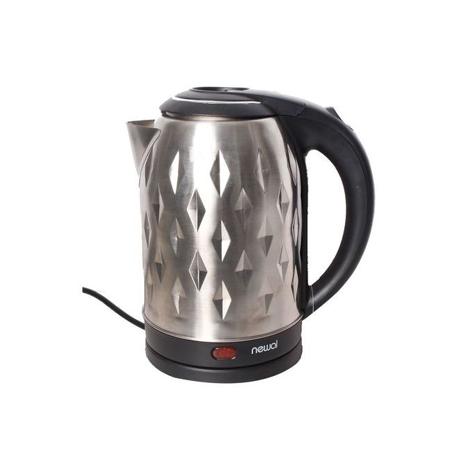Newal NWL-2685 Stainless Steel Kettle– 1.7Litres - Inox