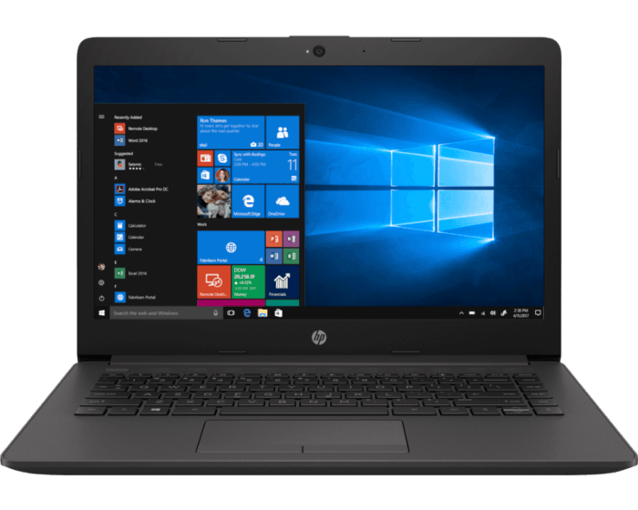 HP 6UL43EA#BH5 250 G7 Notebook PC  - 15.6 HD, i3, 4GB, 500GB HDD