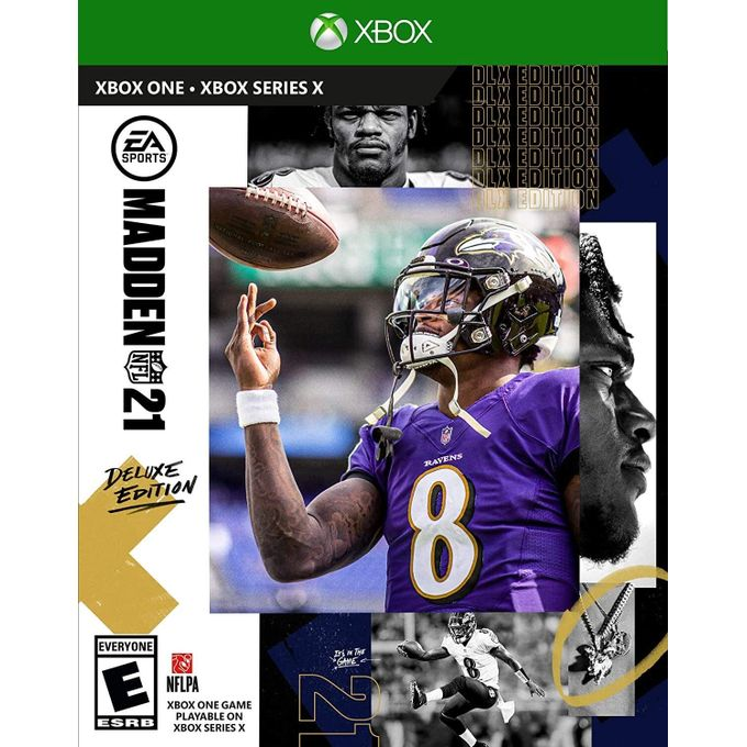 Madden NFL 21 Deluxe Edition - X Box One Series