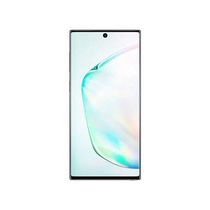 "Samsung Galaxy Note 10 Dual Sim 6.3"" 8GB RAM 256GB ROM 12MP + 12MP + 16MP Camera 3500mAh Battery - Aura Black"