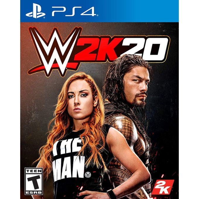 WWE 2K20 Standard Edition - Playstation 4