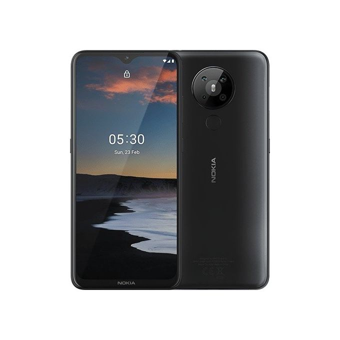 "Nokia Nokia 5.3 - 6.55"" 4GB RAM 64GB ROM 13MP 4000mAh - Charcoal"