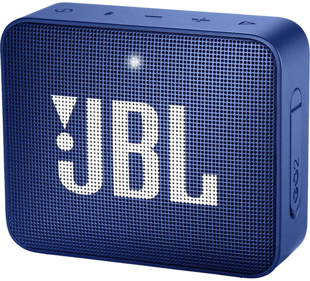 JBL GO2 - Waterproof Ultra-Portable Bluetooth Speaker - Blue