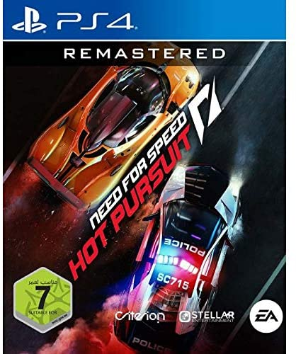 Need for Speed Hot Pursuit Remaster - PlayStation 4