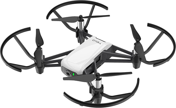 DJI Tello Quadcopter Drone Camera HD Resolution, White