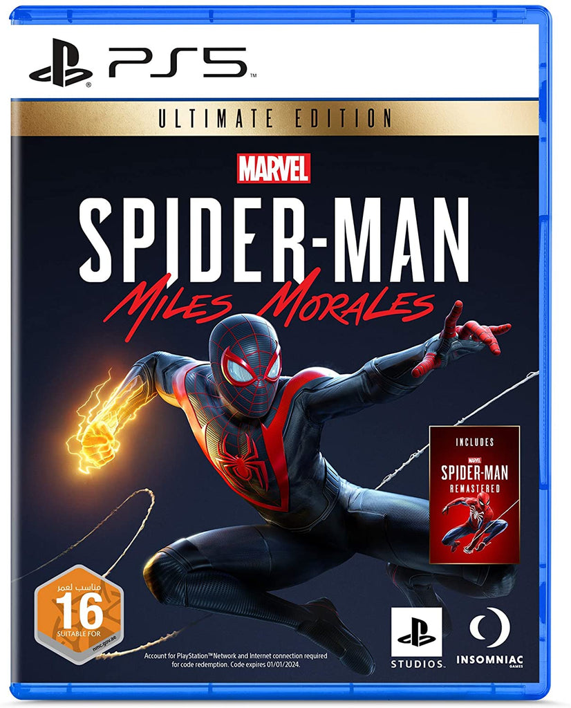 Spider-Man: Miles Morales Ultimate Edition - PlayStation 5