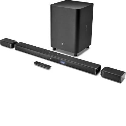 JBL BAR51 Dolby Digital DTS With (Wireless Speakers And Subwoofer & 4k Surround Sound) Bluetooth Soundbar