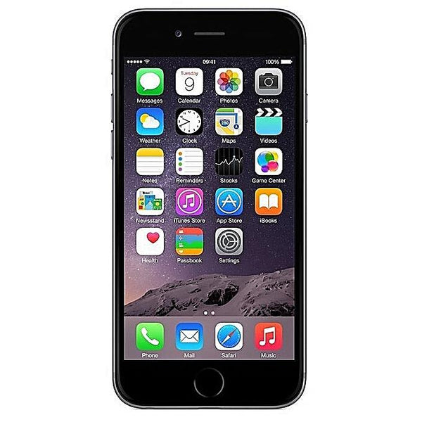 "Apple iPhone 6 - 4.7"", 1GB RAM, 64GB, 12MP Camera, 4G LTE - Space Grey-Shop Twenty Four Seven Uganda"