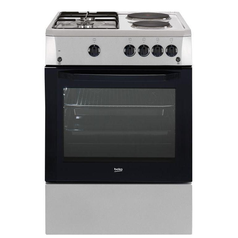 Beko FSET 63110 DX 3 Gas and 1 Electric Range Cooker-Shop Twenty Four Seven Uganda