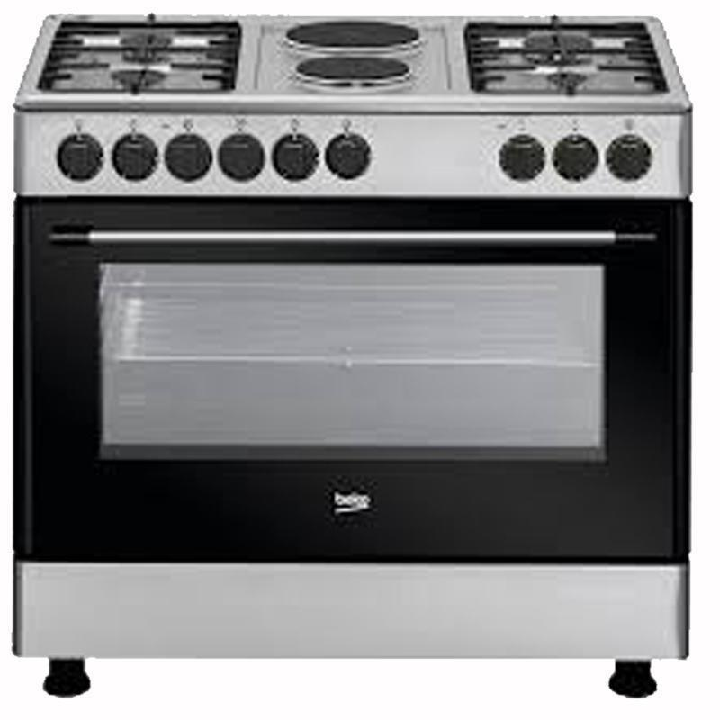 Beko GE12121 DX Range Cooker-Shop Twenty Four Seven Uganda