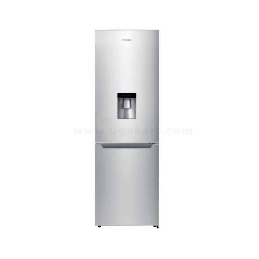 Hisense RB341D4WGU 341L Double Door Refrigerator, Defrost - White-Shop Twenty Four Seven Uganda