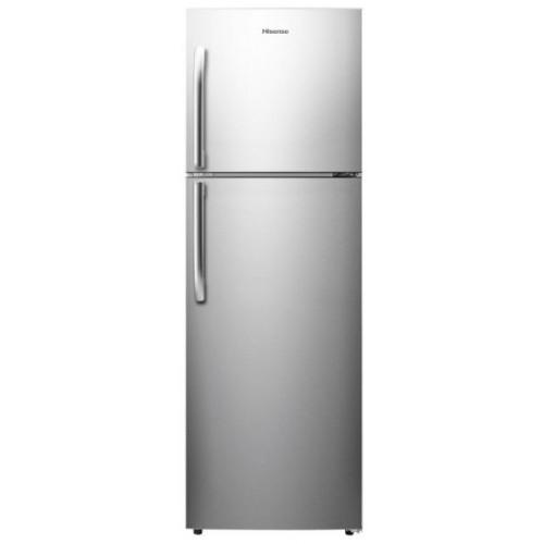 Hisense RT328N4DGN 328L Double Door Refrigerator - Silver-Shop Twenty Four Seven Uganda