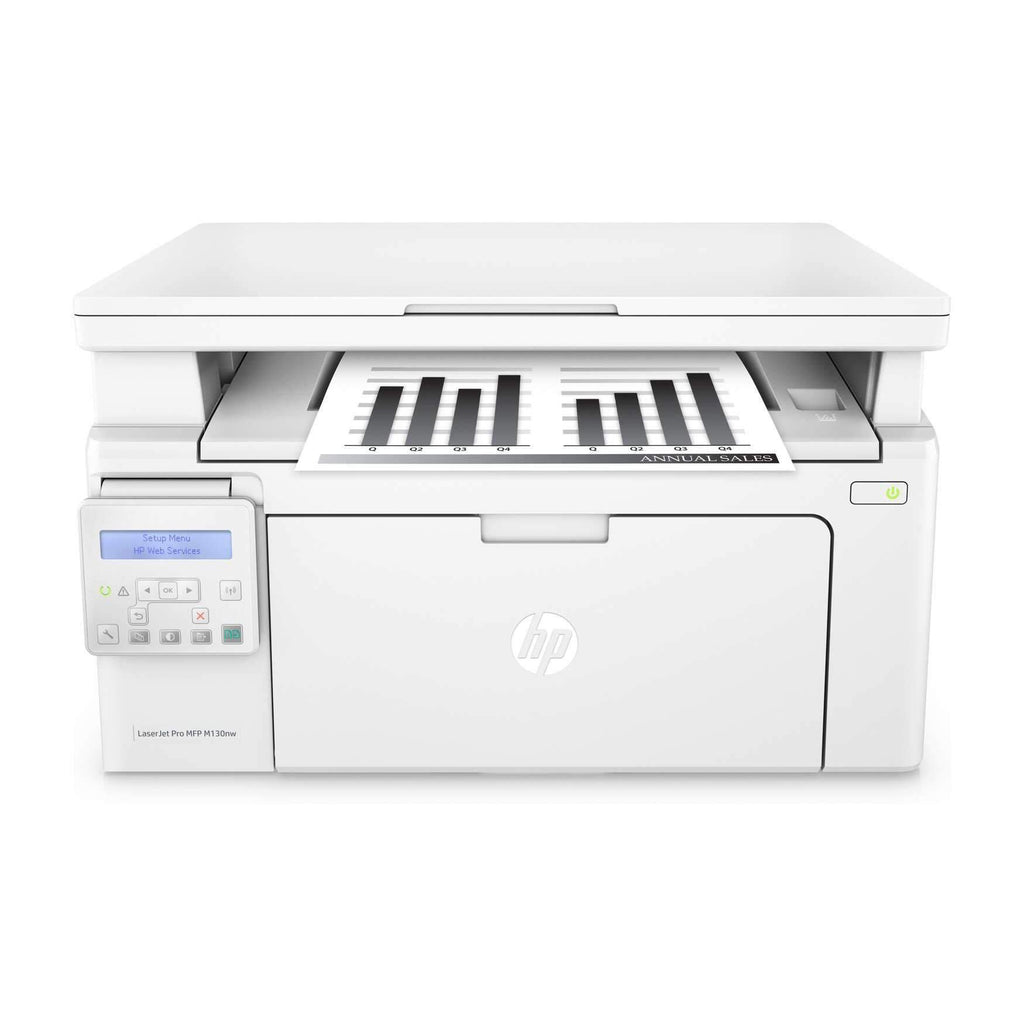HP LaserJet Pro M130nw Black & White Wireless Multifunction Printer - G3Q58A#B19-Shop Twenty Four Seven Uganda