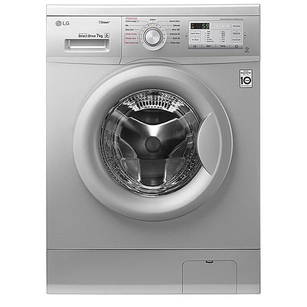 LG FH2G7QDY5 7KG Steam Washing Machine Silver Knob-Shop Twenty Four Seven Uganda