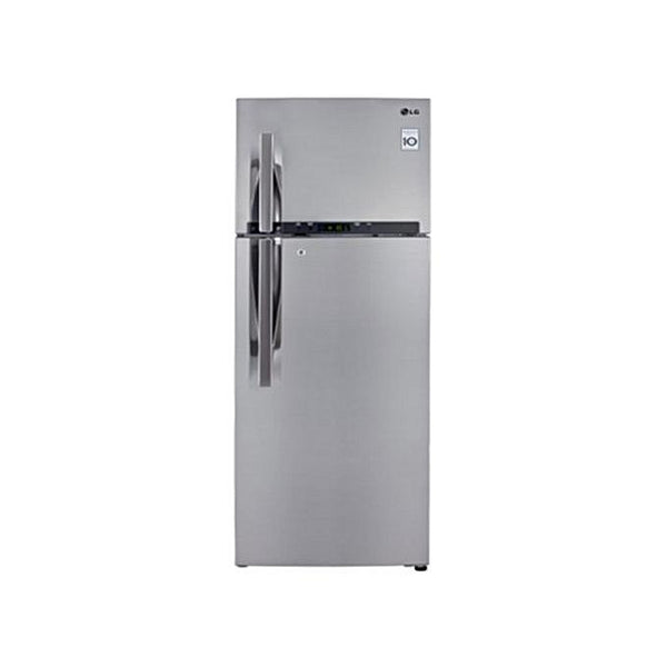 LG GL- C442RLCN - 360L Top Freezer 2 Doors Refrigerator with Smart Inverter Compressor - Silver-Shop Twenty Four Seven Uganda