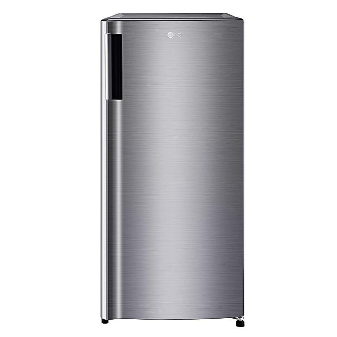 LG GN-Y201SLBB 170L 1-Door Refrigerator with Larger Capacity - Silver-Shop Twenty Four Seven Uganda