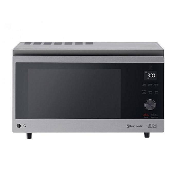 LG MJ3965ACS MicroWave ,39Ltrs Capacity, Fast Cooking - Silver-Shop Twenty Four Seven Uganda
