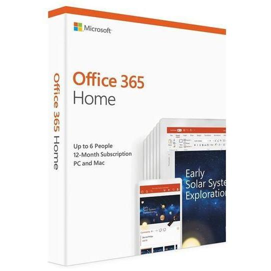 Microsoft Office 6GQ-00951 365 Home 1 Year Subscription up to 6 Users-Shop Twenty Four Seven Uganda