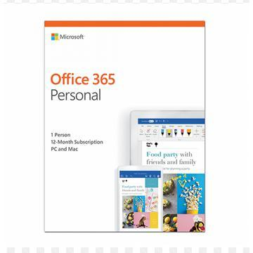 Microsoft Office QQ2-00813 365 Personal 1 Year Subscription for 1 Users-Shop Twenty Four Seven Uganda