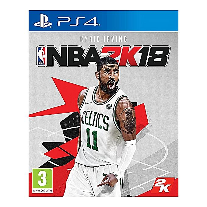 NBA 2K18 - PlayStation 4-Shop Twenty Four Seven Uganda