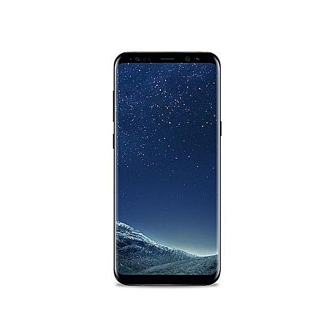 "Samsung Galaxy s8 Plus, 6.2"", RAM 64GB ROM 12MP Camera - Black-Shop Twenty Four Seven Uganda"