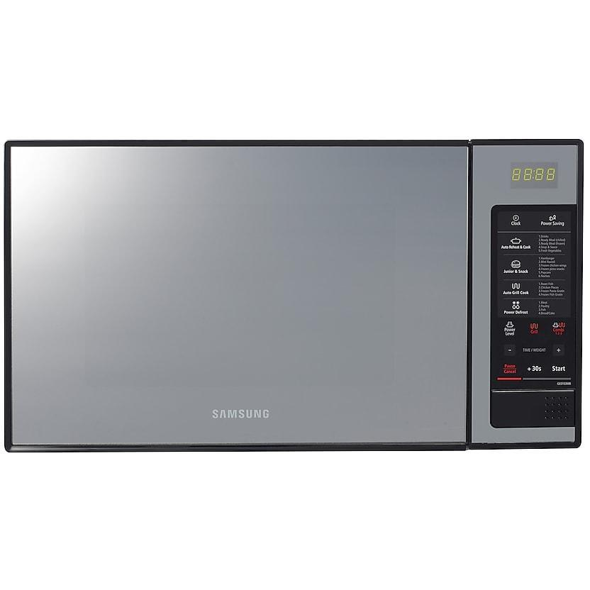 Samsung GE0103MB Grill Microwave Oven with Black Glass mirror, 28 L-Shop Twenty Four Seven Uganda