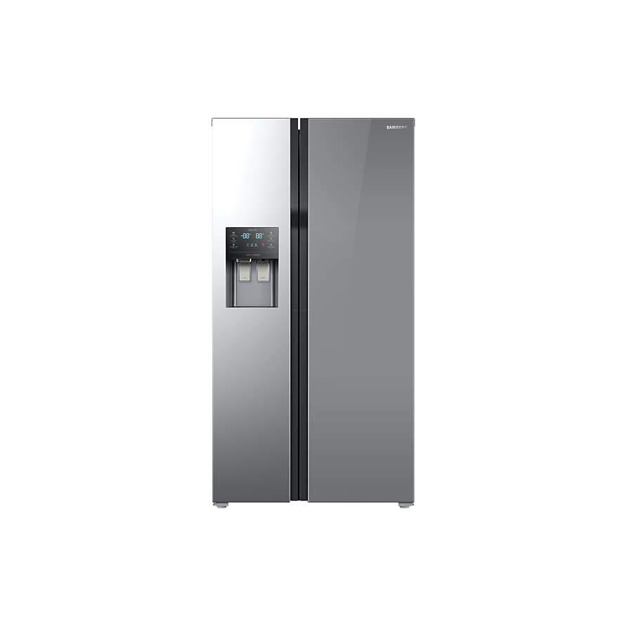 Samsung RS51K54F02A 510L Side By Side with Auto Water & Ice Dispenser Fridge-Shop Twenty Four Seven Uganda
