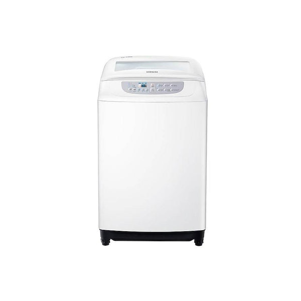 Samsung WA90F5S2UWW Top Load with Diamond Drum, 9.0 Kg - White-Shop Twenty Four Seven Uganda