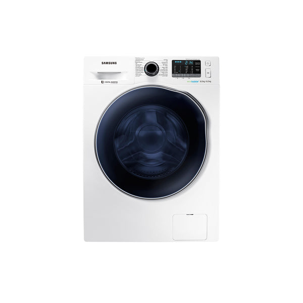 Samsung WD80 J5410AS Deep 8kg Foam Front Load Silver Washing Machine-Shop Twenty Four Seven Uganda