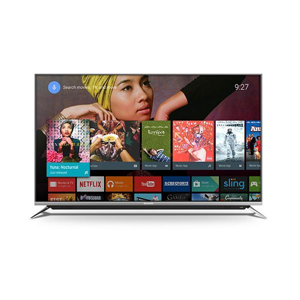 "Skyworth 55G6A11T 55"" 4K UHD Smart Android TV with Built In Chromecast - Black-Shop Twenty Four Seven Uganda"