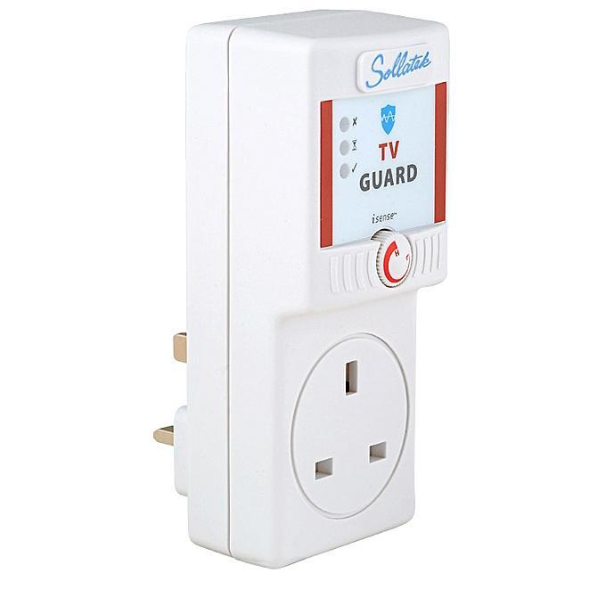 Volt Secure TV Guard 5A-1 - White - VSTG-Shop Twenty Four Seven Uganda