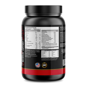Performance Protein All-In-One Formula - Complete Amino Acid Profile with Pre-Workout, Recovery, Joint Complex, Vitamins, Electrolytes, Omega 3-6-9