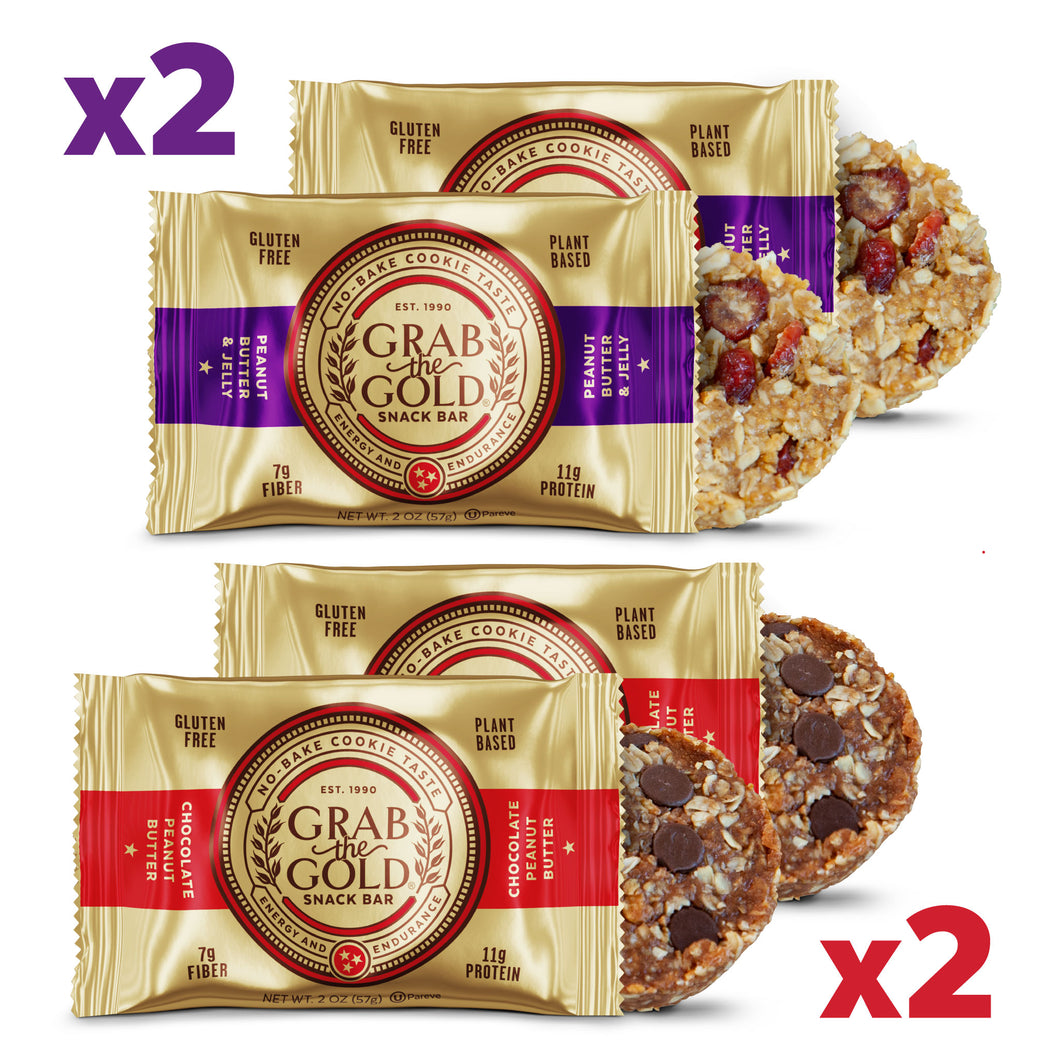 4 Snack Bar Variety Pack