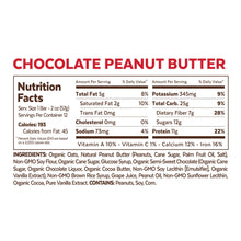 Grab The Gold Chocolate Peanut Butter Nutrition Facts