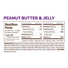 6 Snack Bars - Peanut Butter & Jelly