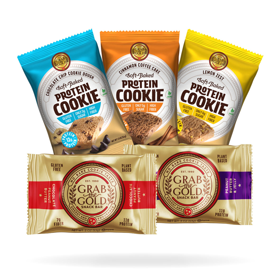 Snack Sampler Pack: Bars & Cookies