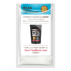 BCAA Pump & Performance - Trial Pack - Single Serving