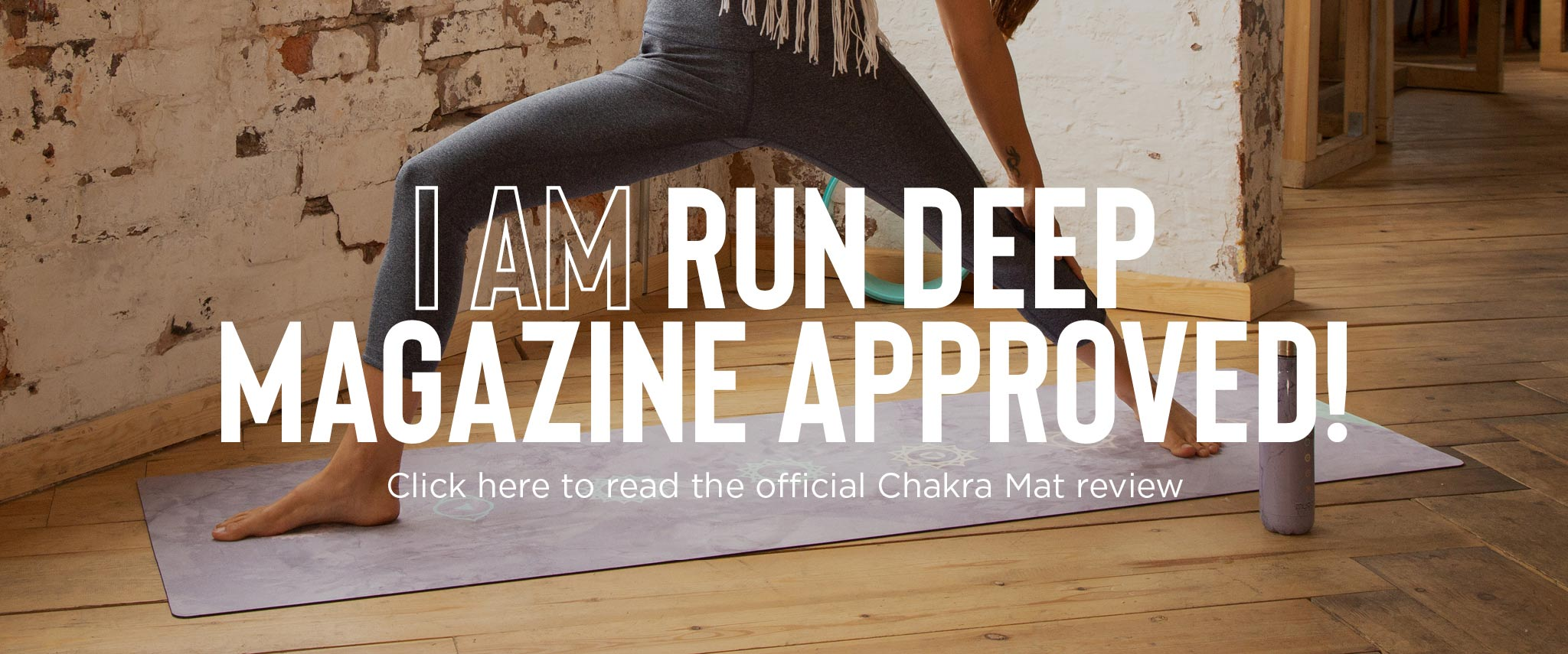 I am Run Deep Magazine Approved!
