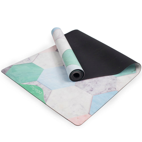 Terraza Luxurious Vegan Suede Yoga Mat