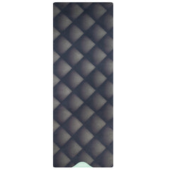 Black Luxurious Vegan Suede Yoga Mat