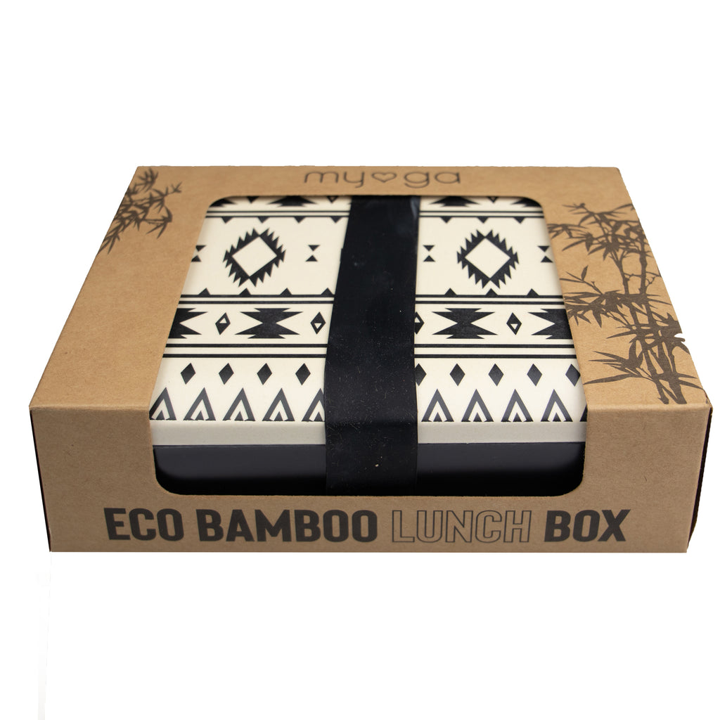 Bamboo Lunch box - Aztec