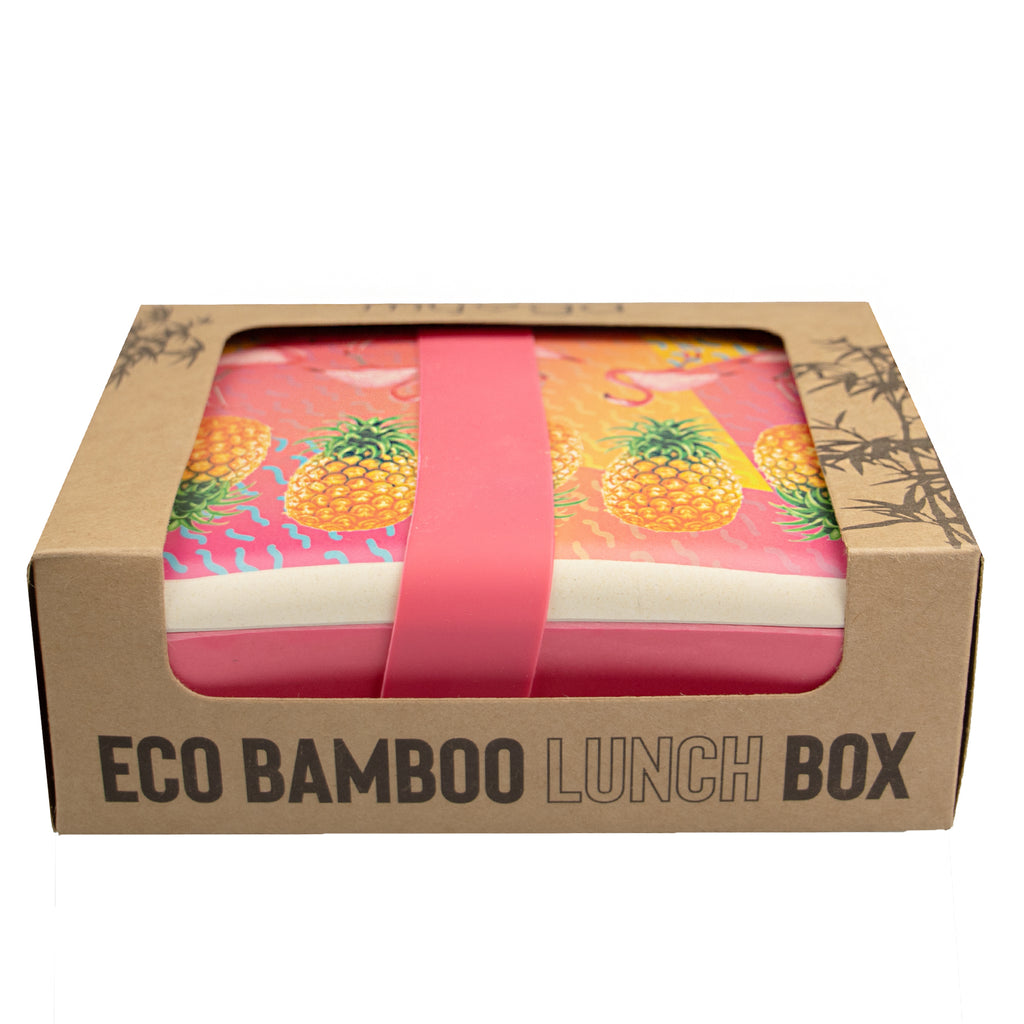 Bamboo Lunch box - Tropical