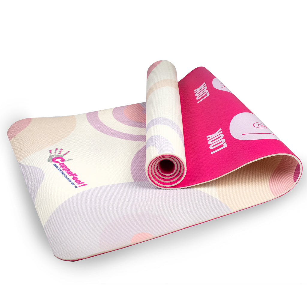 Breast Cancer Awareness Charity CoppaFeel! Retro Boobs Mat