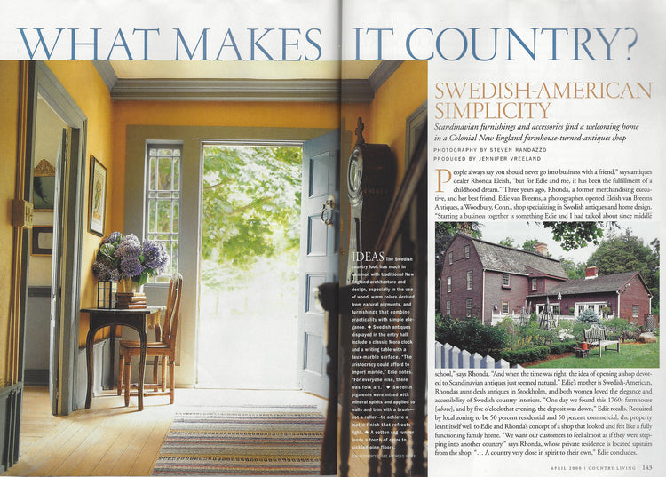COUNTRY LIVING APRIL 2000