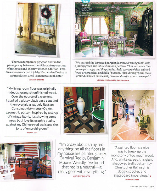 HOUSE BEAUTIFUL FEBRUARY 2014