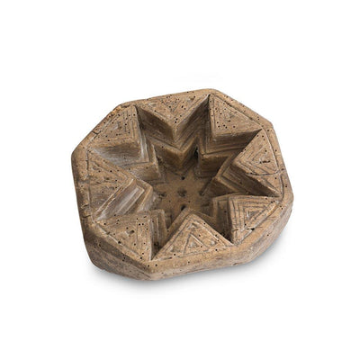 18th c. Swedish Star Mold Eleish Van Breems Home