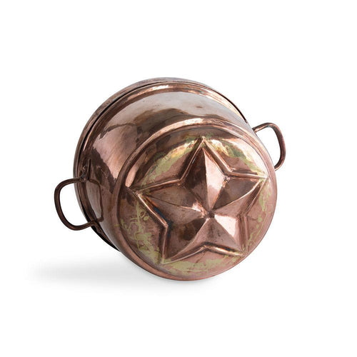 19th c Swedish Copper Star Mold