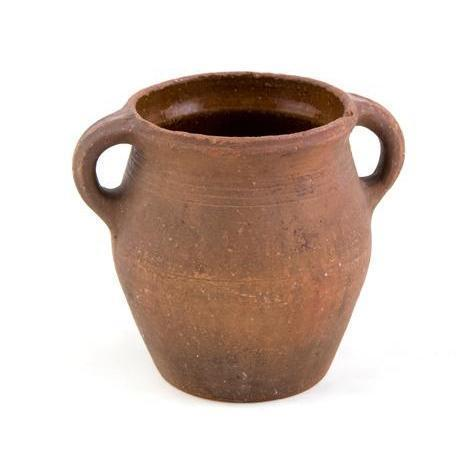 19th C. Swedish Terra Cotta Pot