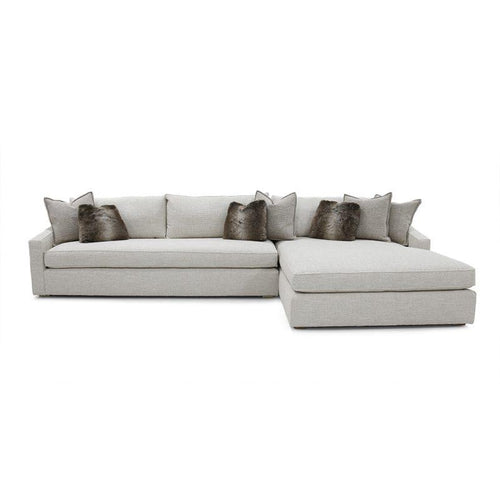 Duke 2 Piece Sectional  LAF Sofa with RAF Chaise