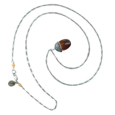 Acorn Necklace Amber Eleish Van Breems Home